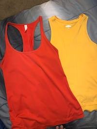 2 sports tank tops  Plymouth, 55441