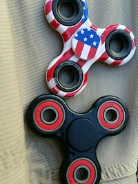 two multicolored hand spinner Reno, 89512