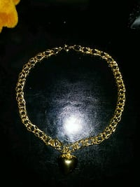gold-colored chain necklace Ellicott City, 21042