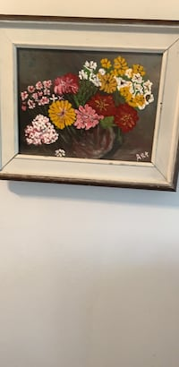 Hand painted signed by artist  Longueuil, J4V 2E9