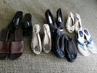 Seven pairs of assorted shoes Reno, 89506