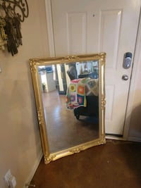 Large gold mirror Moore, 73160