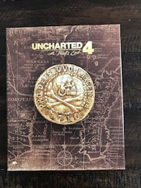 Uncharted 4 game guide book Mississauga, L5K 1B2