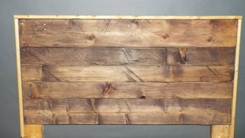 Rustic/Reclaimed Wood Twin Bed Only $65!!!!