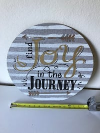 """""""Find Joy in the Journey"""" wall art  Payson"""