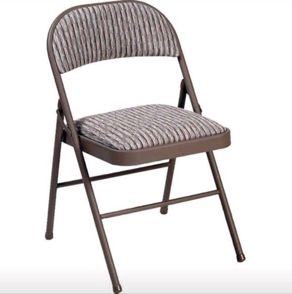 Astounding Meco Deluxe Padded Steel Folding Chair Theyellowbook Wood Chair Design Ideas Theyellowbookinfo