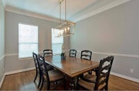 Dining table & 6 chairs Houston