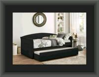 Black Daybed free mattress and delivery Alexandria, 22305