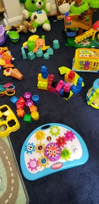 toddler's assorted toys - as is in picture  - lot Reston, 20190