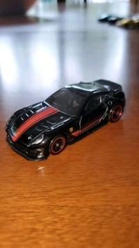 black and red car scale model Poughkeepsie, 12603
