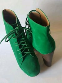 New! Pair of green suede boots women's size 9 Albuquerque, 87121