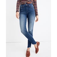 "Madewell 10"" High-Rise Skinny Jeans Los Angeles, 90034"