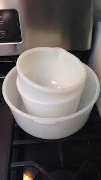 Vintage Sunbeam Glasbake Mixing Bowls Rockville, 20852