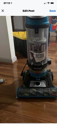 bissell pet clean view vacuum $80 OBO