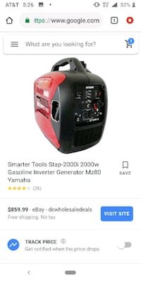 smart tools powersince 2000ieu generator   Anchorage, 99503