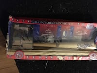 Dodgers pitcher card and mini bat collectible