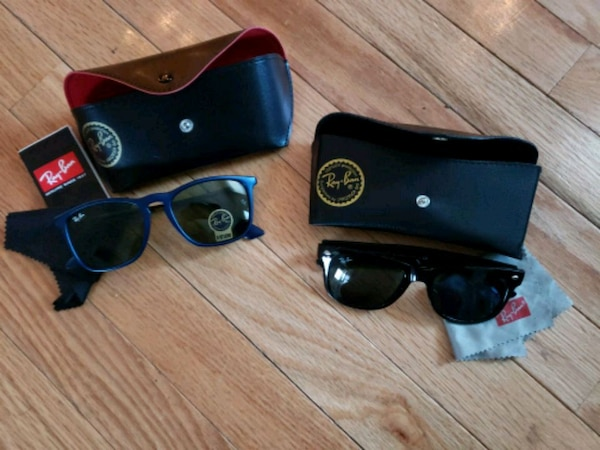 New Ray-Ban sunglasses with case