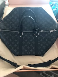 Louis Vuitton Monogram Eclipse Keepall 45 2390 mi
