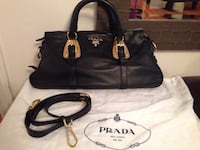 PRADA lamb skin leather bag (authentic) Brampton