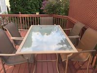 9-piece high dining Outside Deck/Patio Set Table and 8 chairs! Schuylkill, 19460