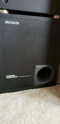 black and gray Pioneer subwoofer speaker Woodbridge, 22191