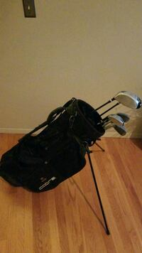 Cobra Golf Bag with Wilson Clubs 3 woods, 5 irons Miller Place, 11764
