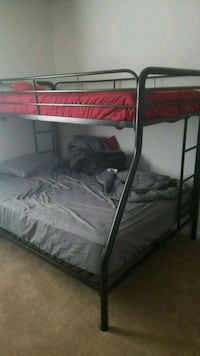Full/Twin Bunk Bed and Mattresses Virginia Beach