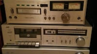 8track and cassette player