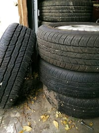 Brand New tires Dunlop Clearfield, 84015