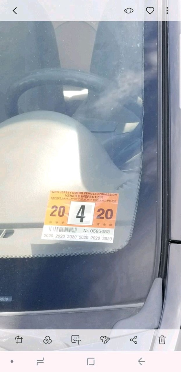 Nj Vehicle Inspection >> Nj Inspection Sticker