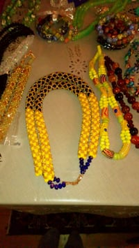 African beads necklaces  Stavanger, 4042