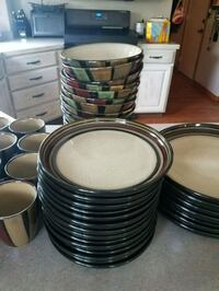 Ceramic plates bowls and coffee cups  Orrville, 44667