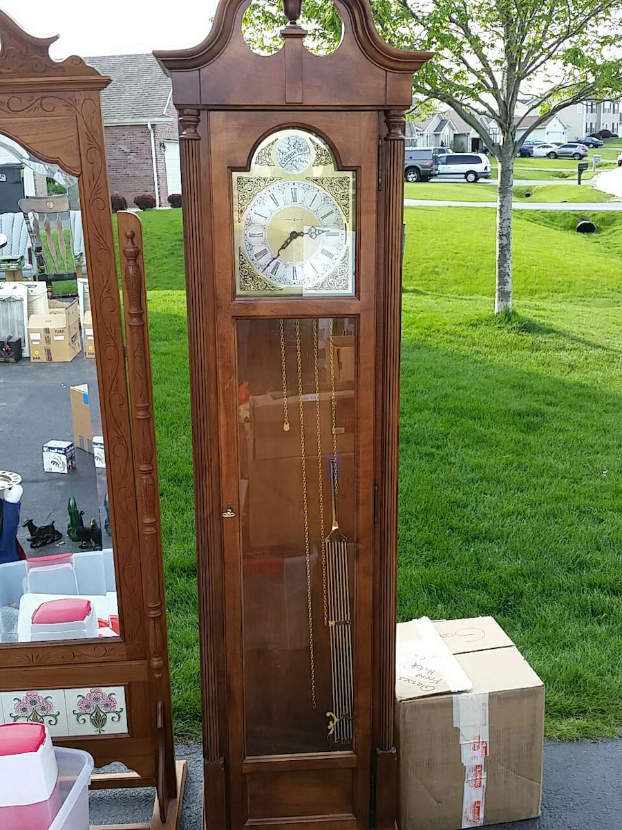 more info - Howard Miller Grandfather Clock