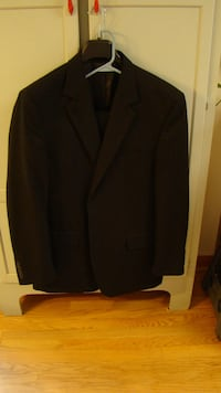 Men's Black VanHeusen Suit Perryville, 21903