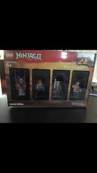 Limited edition brand new LEGO figures  Port Coquitlam, V3C 5E1