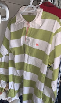 Authentic Burberry Long sleeve Button up