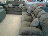 Ashley soft Brown fabric sofa and love seat sale  Phoenix, 85018
