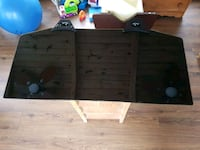 46 in tv swivel stand with wall ledge Longueuil, J3Y