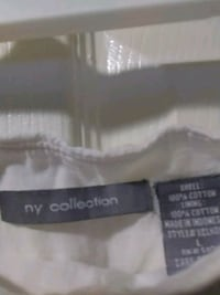 NY Collection Women's Skirt White Baltimore, 21223