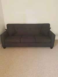 black fabric 2-seat sofa Windsor, N8P 1P9