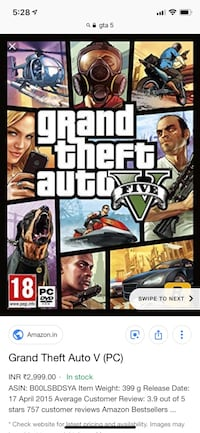 Sony PS4 Grand Theft Auto Five case Dayton, 47941