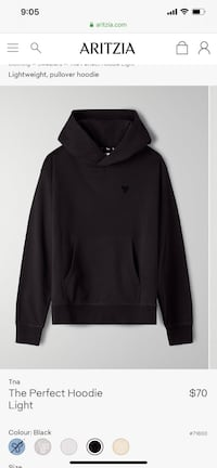 Aritzia TNA The Perfect Hoodie Light NEW Richmond, V6Y 1X9
