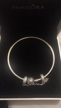 BRAND NEW PANDORA BANGLE   Brand new in box Charms sold separately Size 19 cm Toronto, M4J 2S4