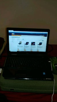 black laptop computer with AC adapter Norfolk, 23511