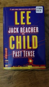 Past Tense by Lee Child  Fort Erie, L2A 6J1