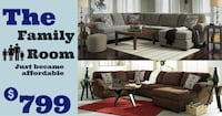 Large sectionals $799 no credit check financing  Roslyn Heights, 11577