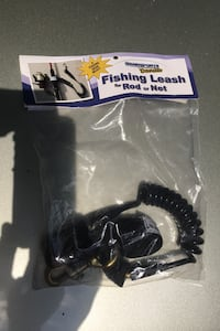 Fishing leash for rod or net