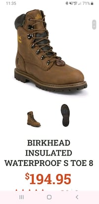 Chippewa Steel Toe