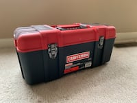 red and black Craftsman tool box Dumfries, 22026