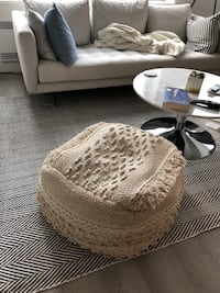 Moroccan style pouf Vancouver, V5T 3C7